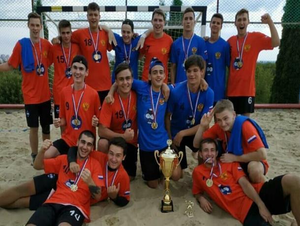 Ставропольская команда победила на первенстве России по пляжному гандболу