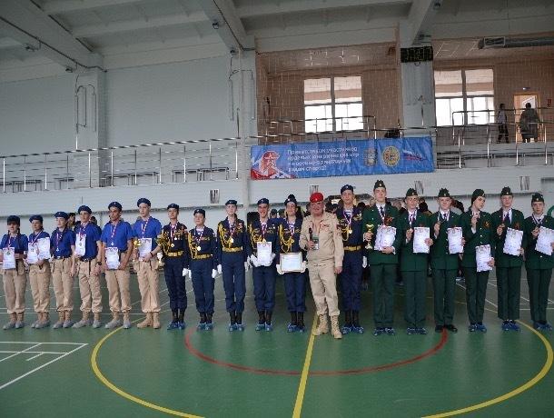 В Ставрополе прошли первые краевые юноармейские игры