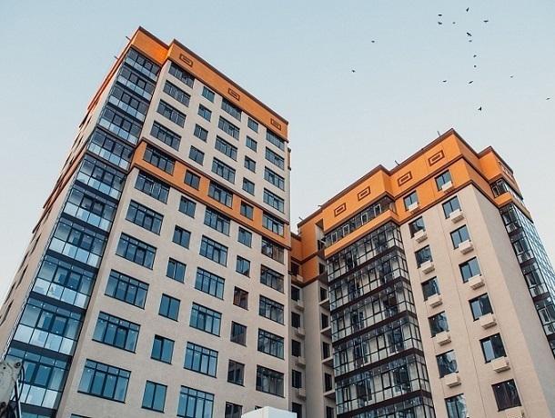 Жилой комплекс необычной конфигурации от строительной компании «Эвилин»