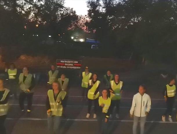 В Буденновске полиция устроила пляски ради популяризации светоотражающих жилетов