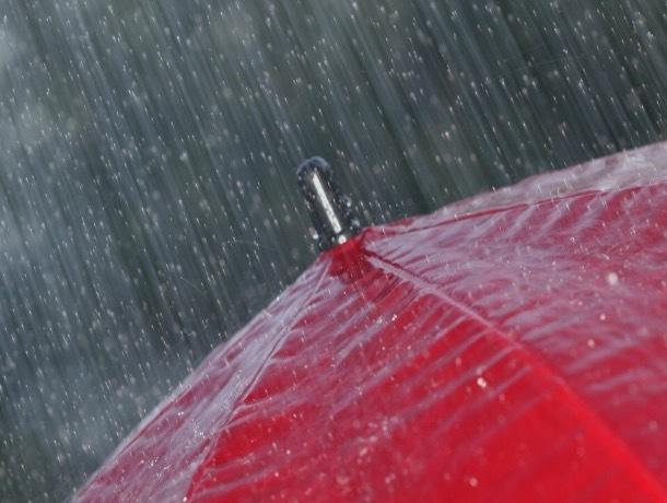 Жителям Ставрополя в понедельник может пригодиться зонтик