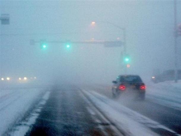Оснегопаде итумане доконца недели предупредили водителей Ставрополья