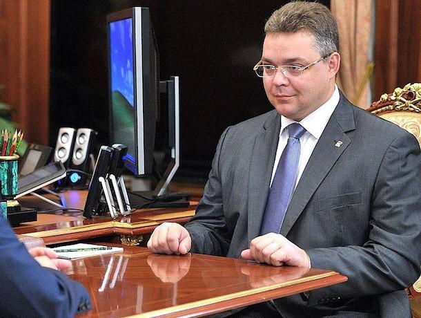 Глава Ставропольского края Владимир Владимиров  улучшил позиции в рейтинге губернаторов