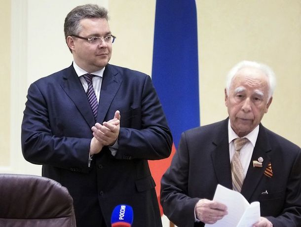 Член ставропольского отделения КПРФ открыто поддерживает Владимирова в избирательной кампании