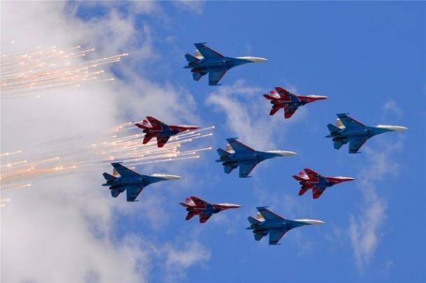 В небе над Ставрополем пролетят «Стрижи»