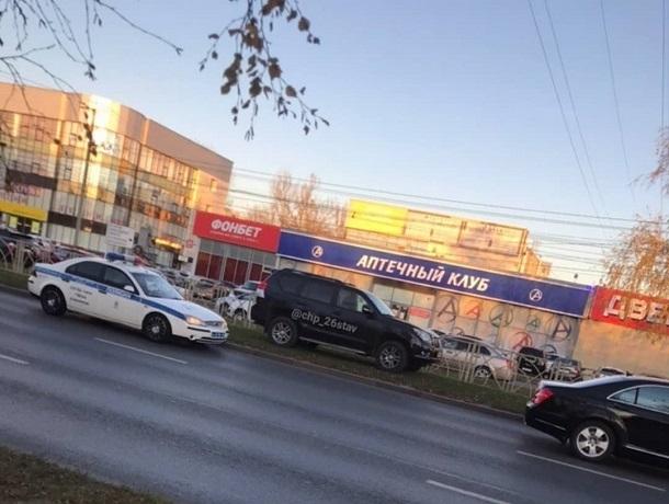 «Мастерство парковки» продемонстрировал автохам в Ставрополе