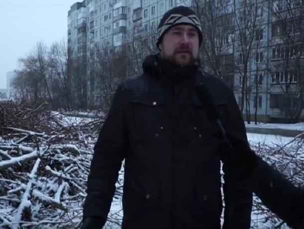 По документам вырубили сухие тополя, но тут были ясени и фруктовые деревья, - общественник из Ставрополя