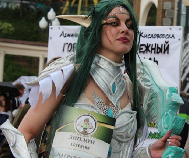 Фееричный маскарад открыл курортный сезон в Кисловодске