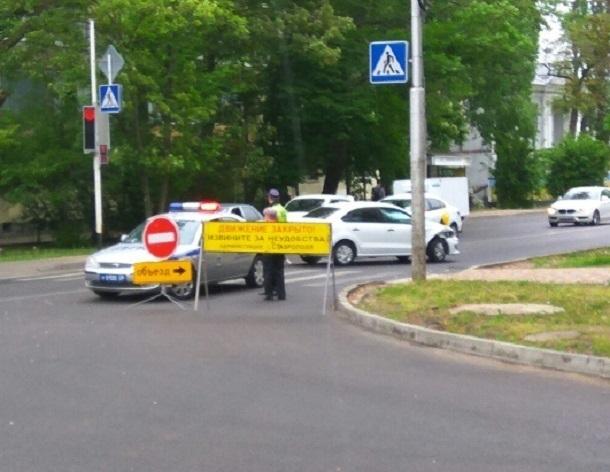 Ставрополь «встал» в пробках из-за проезда военной техники