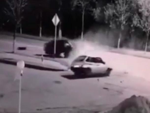 Появилось видео аварии с 6-тью пострадавшими на КМВ