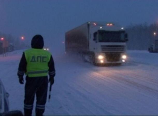 ВПетровском районе Ставрополья из-за метели ограничено движение транспорта