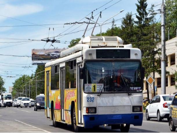 До 10 июня троллейбусы в Ставрополе будут ходить бесплатно