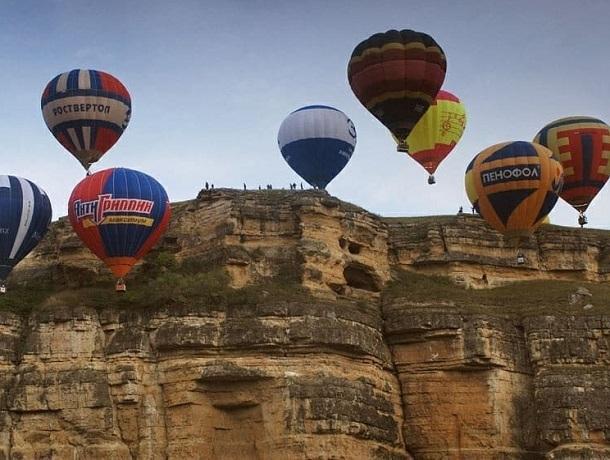 «Парят, как птицы»: появились фотографии с фестиваля воздушных шаров на КМВ