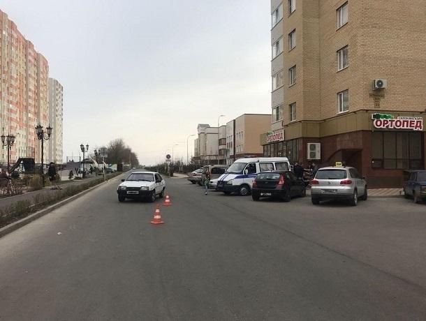 Школьника нароликах сбили вспальном районе Ставрополя