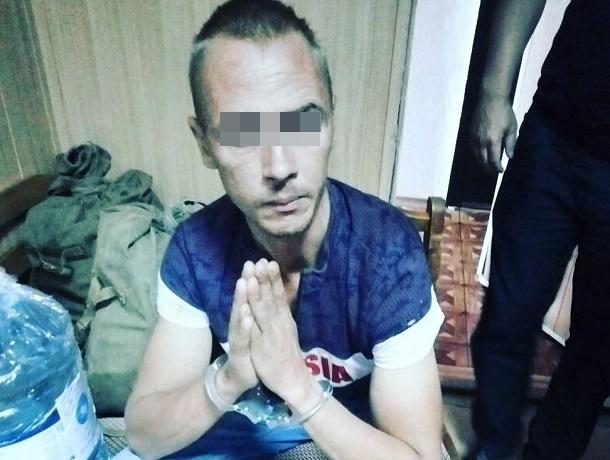 Скрывавшегося от полиции убийцу сожительницы задержали на Ставрополье