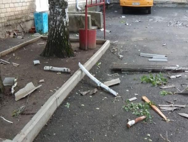 Служба спасения устранила последствия урагана на Ставрополье
