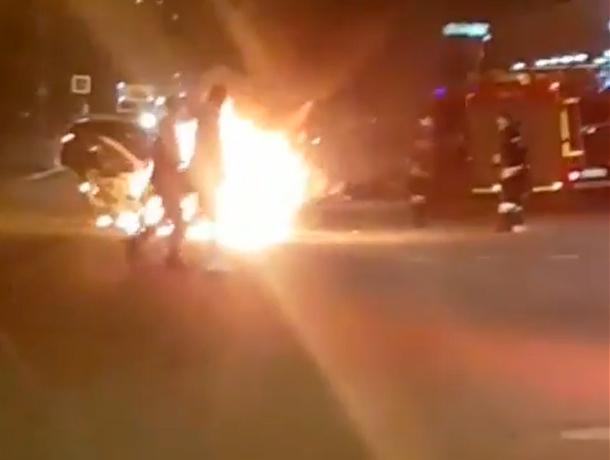Таксист «перетопил» свой автомобиль в Пятигорске