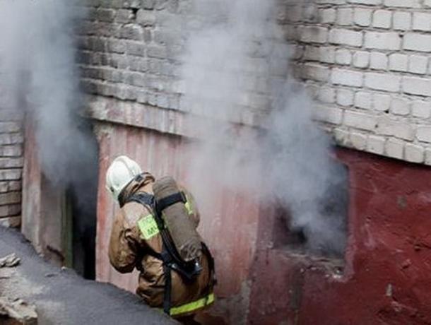 В Ставрополе загорелся подвал детского развлекательного центра
