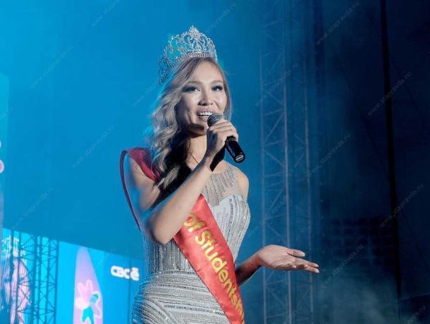 Кыргызстанка стала победительницей конкурса «Королева студенчества 2019»