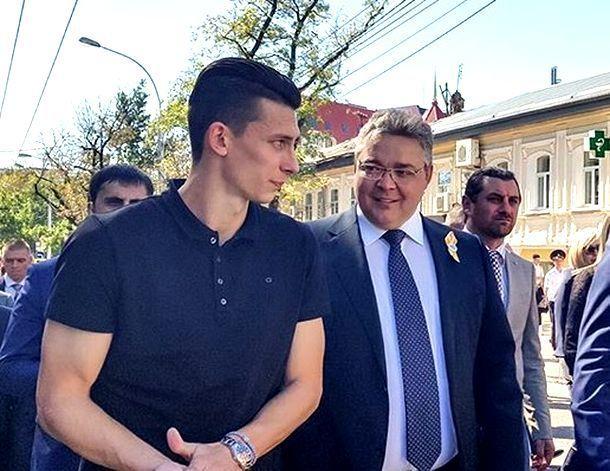 Игрок сборной России и «Спартака» Илья Кутепов побывал на празднике в Ставрополе