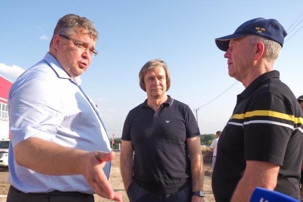 В Михайловске начали строить четвертый выезд из города