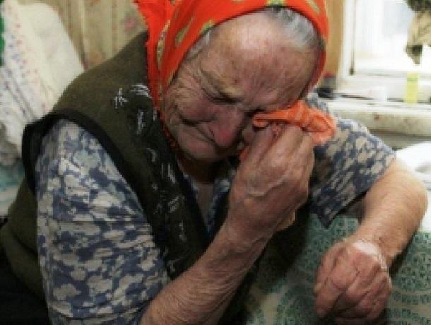 Преступник избил 89-летнюю бабушку
