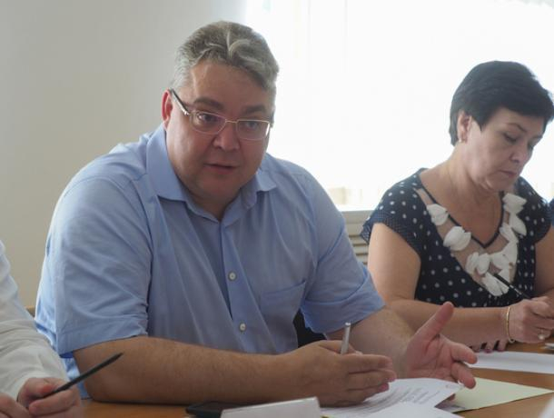 Ставропольский губернатор проведет прямую линию 15 августа