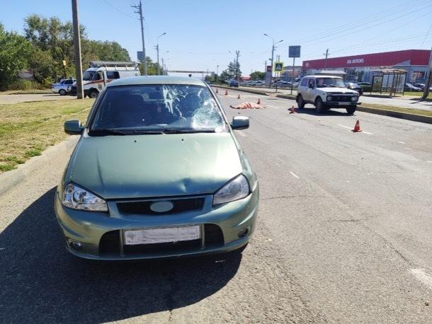 В Ставрополе водитель «Лады» насмерть сбил 83-летнюю женщину на «зебре»