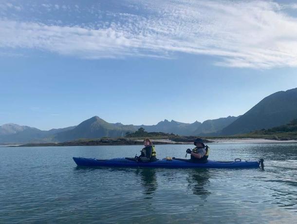 Ставропольчанин переплыл холодные озера Норвегии