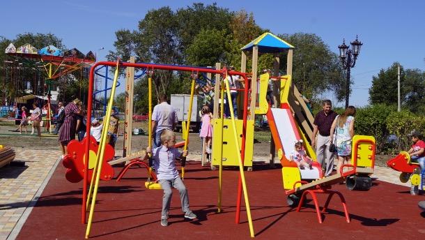 На Ставрополье благоустроили две площади и парк