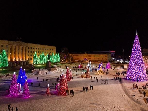 Программа праздничных мероприятий на Новый год в Ставрополе