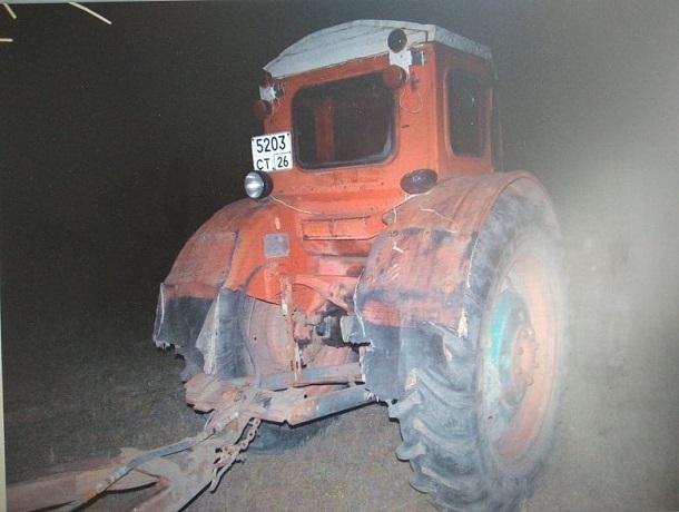 Мужчина на тракторе насмерть задавил своего двоюродного брата на Ставрополье