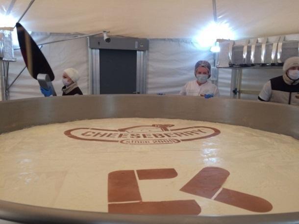 Ставропольский чизкейк весом неменее 4 тонн побил мировой рекорд