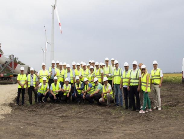 Первый ставропольский ветропарк запустят в 2020 году