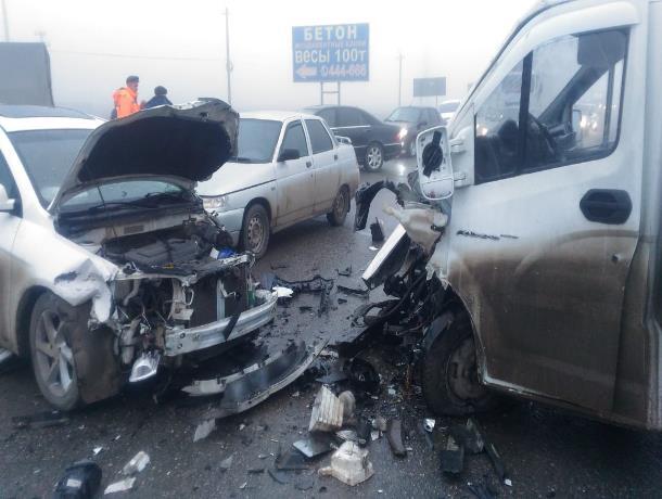 32-летний житель Ставрополя мог стать виновником ДТП с 5 машинами и 1 погибшим
