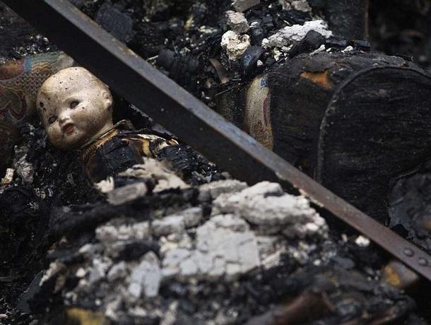 9-летняя девочка задохнулась во время пожара в Ставрополе