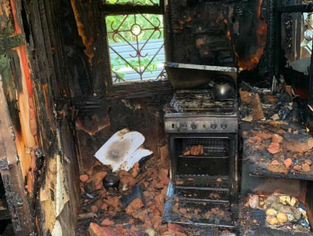 В Ставрополе в частном доме мужчина сгорел заживо