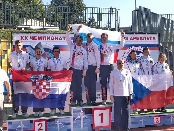 Ставропольские арбалетчики завоевали 4 награды на первенстве мира
