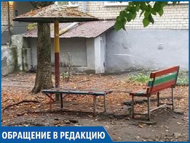 «Можно фильм о Чернобыле снимать», - жительница Ставрополя о детской площадке во дворе дома