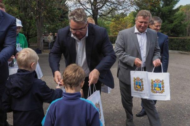 Дети из Иркутской области вернулись домой после отдыха в Кисловодске