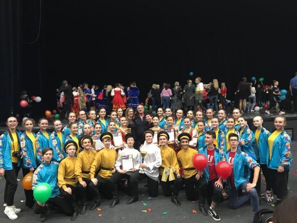 Гран-при танцевального конкурса взял коллектив «Радуга» из Ставрополя