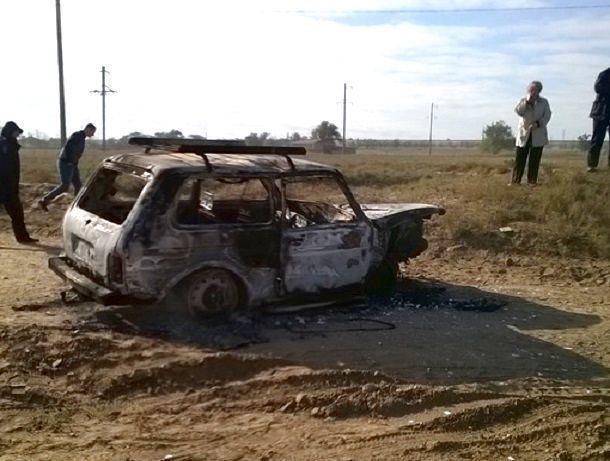 Нетрезвый гражданин Ставрополья угнал авто ичуть несгорел внем