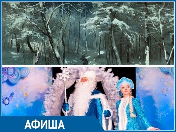 «Температура цвета» и «Волшебное кольцо Снегурочки»: самые яркие события этой недели в Ставрополе