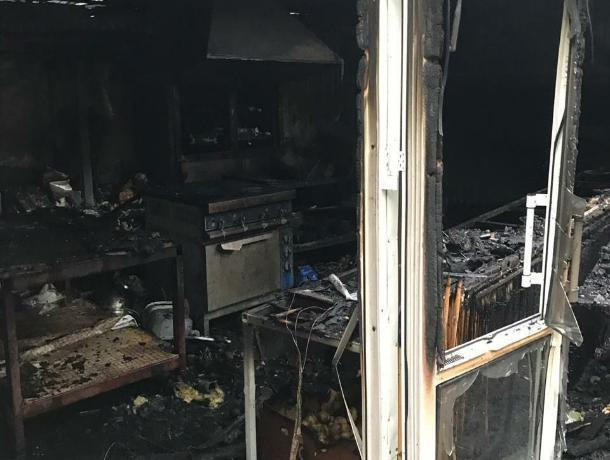 Никто не пострадал при пожаре в парке Победа в Ставрополе