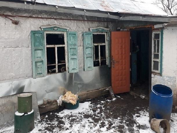 ВКочубеевском районе сгорел дом. Два человека погибли