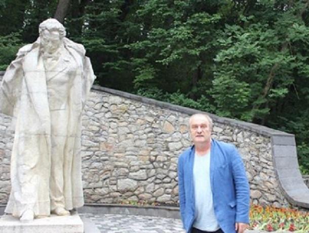 Именитый российский актер Александр Балуев читал стихи Пушкина в Железноводске