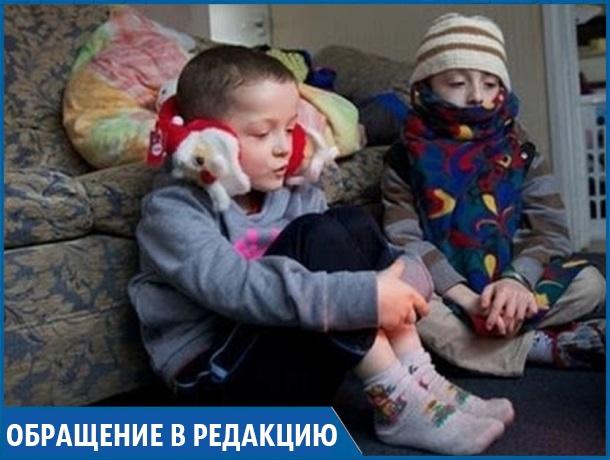 «Дети плачут, потому что в доме холодно», - жительница хутора на Ставрополье пожаловалась на отключения электричества