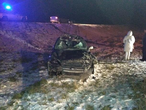 26-летний водитель «Форд-Фокуса» сбил корову и получил серьезные травмы на Ставрополье