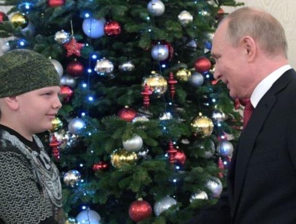 Путин исполнил мечту ребенка, который хотел пожать ему руку