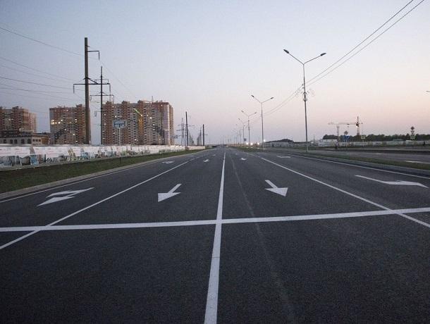 Вторую очередь дороги на проспекте Российском запустили в Ставрополе